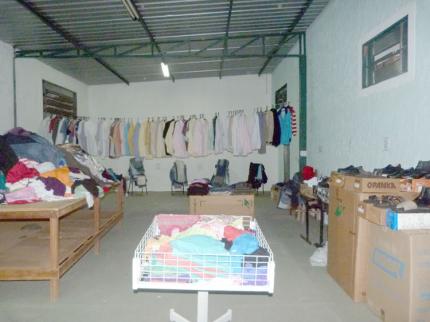 Bazar é realizado pelo Fundo Social de Nova Luzitânia