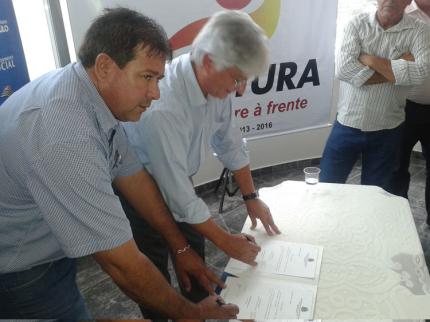 Nova Luzitânia renova convênio com o Programa Viva Leite