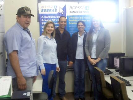 Posto do Acessa SP é inaugurado em Nova Luzitânia