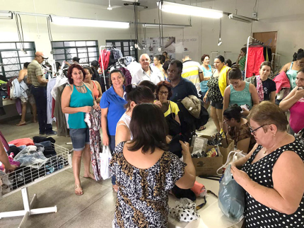Fundo Social realiza mais uma edição do bazar
