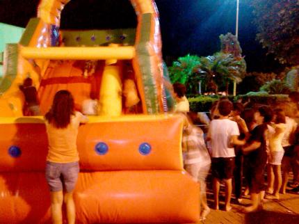 Crianças tem dia de muita diversão em Nova Luzitânia