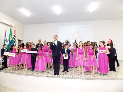 Formatura dos 5º Anos da Escola Municipal José Augusto Gama de Souza