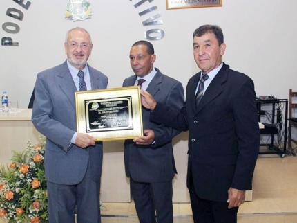 Nova Luzitânia recebe Secretário de Educação
