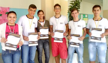 Alunos da EE de Nova Luzitânia são destaque na OBA 2014
