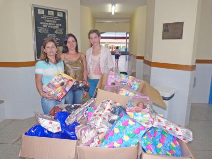 Fundo Social faz doação a Centro de Educação Infantil em Nova Luzitânia