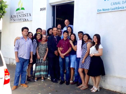 Igreja adventista recebe esposa de pastor