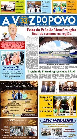 Edição 13/03/2015