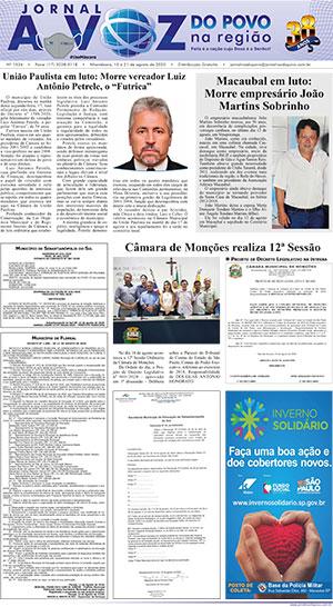 Edição 21/08/2020