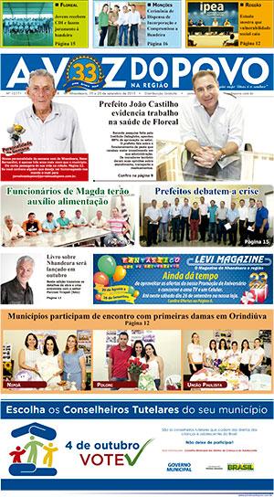 Edição 25/09/2015